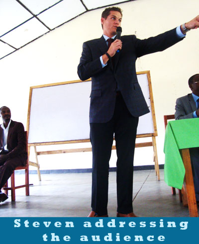 ULK Gisenyi campus visited by Americans