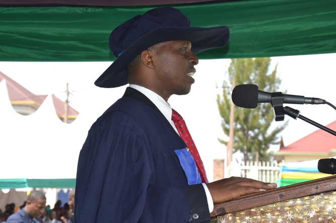 Remarks by Vice Chancellor