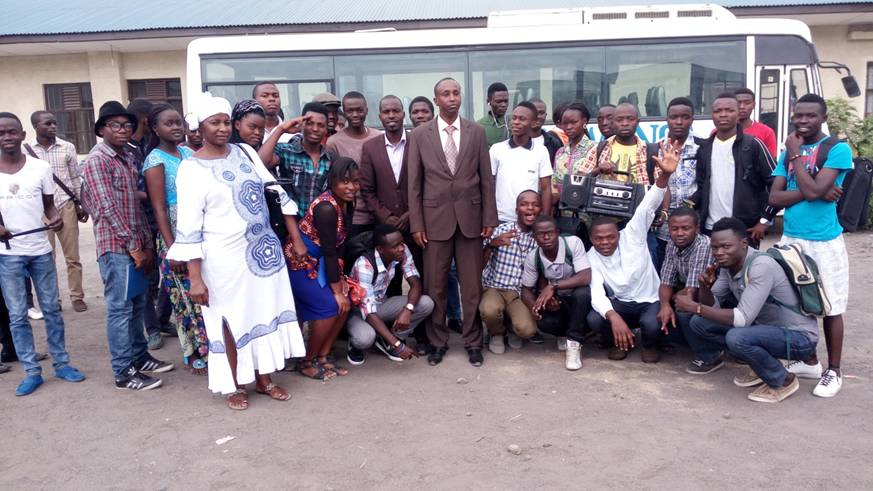 ULK Gisenyi campus, Group photo with some of the trainees