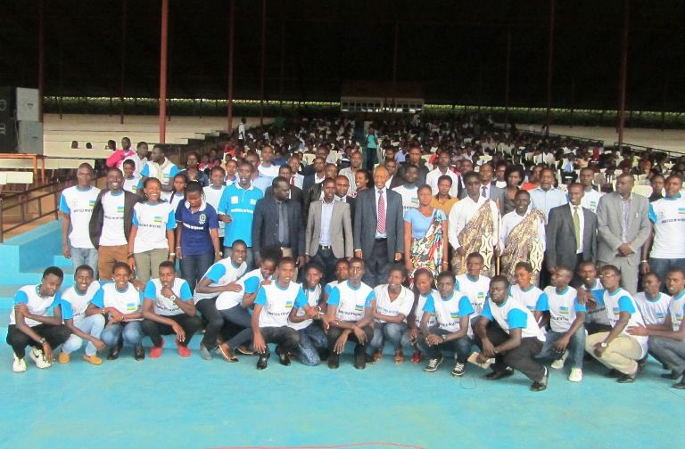 ULK Founder and President Prof. Dr RWIGAMBA Balinda induction week Group Photo