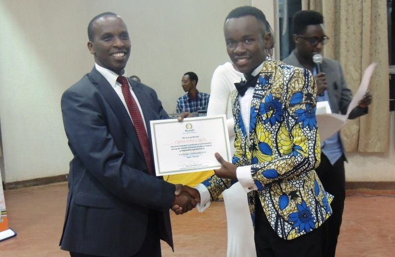 EAC Debaters rewarded by ULK VC