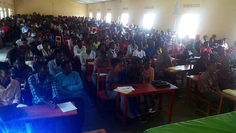 ULK/GISENYI CAMPUS STUDENTS BRIEFED ON PANAFRICANISM