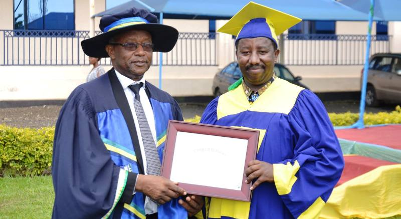 ULK Chancellor Prof. Dr Kalisa Mbanda 11th Graduation Ceremony Gisenyi Campus 1