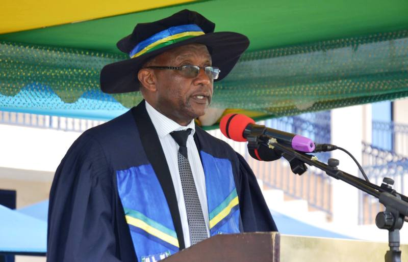 ULK Chancellor Prof. Dr Kalisa Mbanda 11th Graduation Ceremony Gisenyi Campus