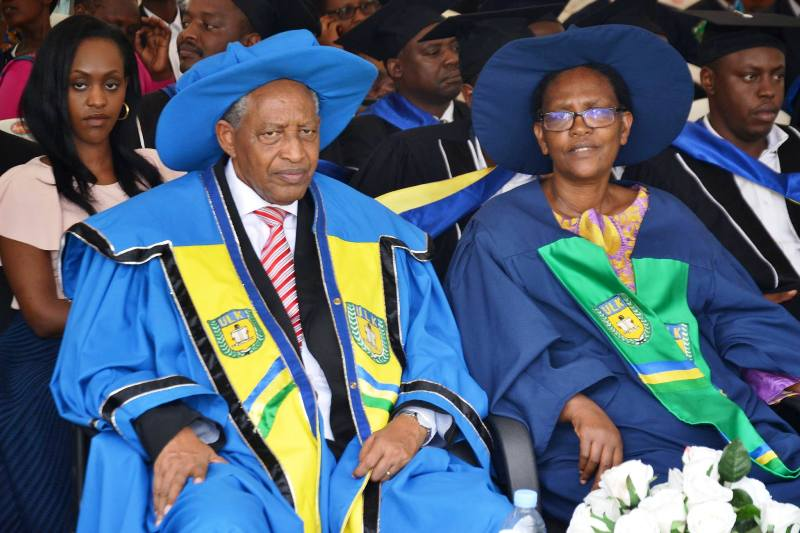 ULK Founder and President and Madam