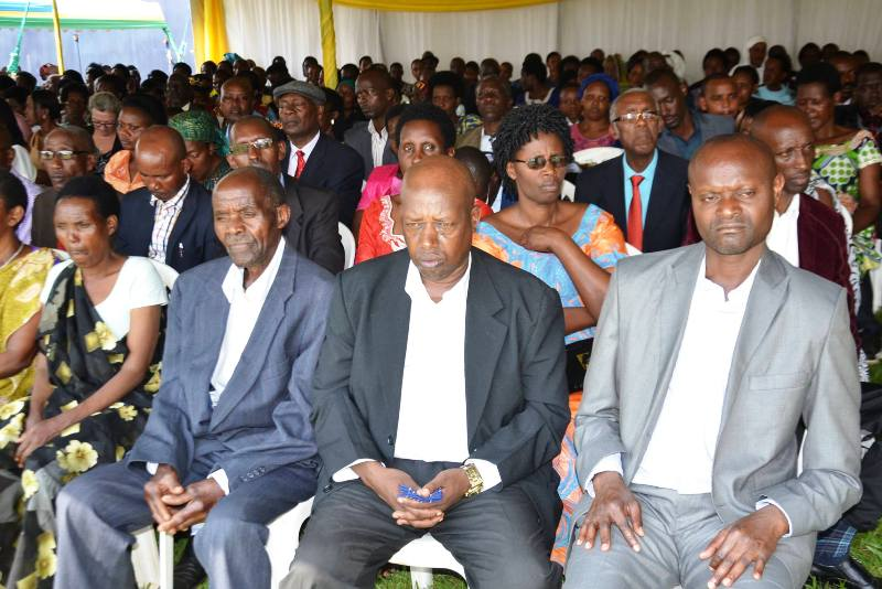 ULK GISENYI GRADUATION CEREMONY PARENTS AND FRIENDS OF GRADUATES