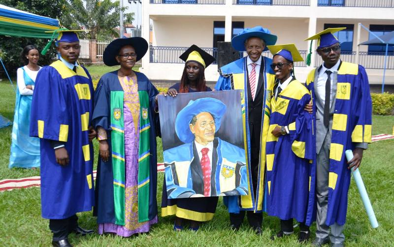 ULK Gisenyi graduates recognize ULK founder efforts