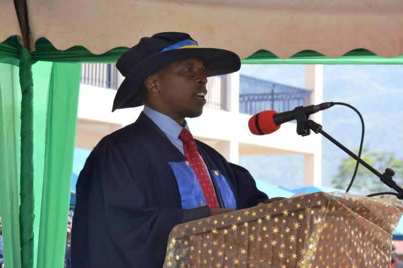 ULK VICE CHANCELLOR DR SEKIBIBI EZECHIEL SPEAKING