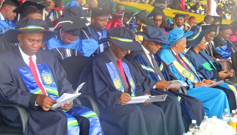 ULK authorities during 13th Graduation Ceremony