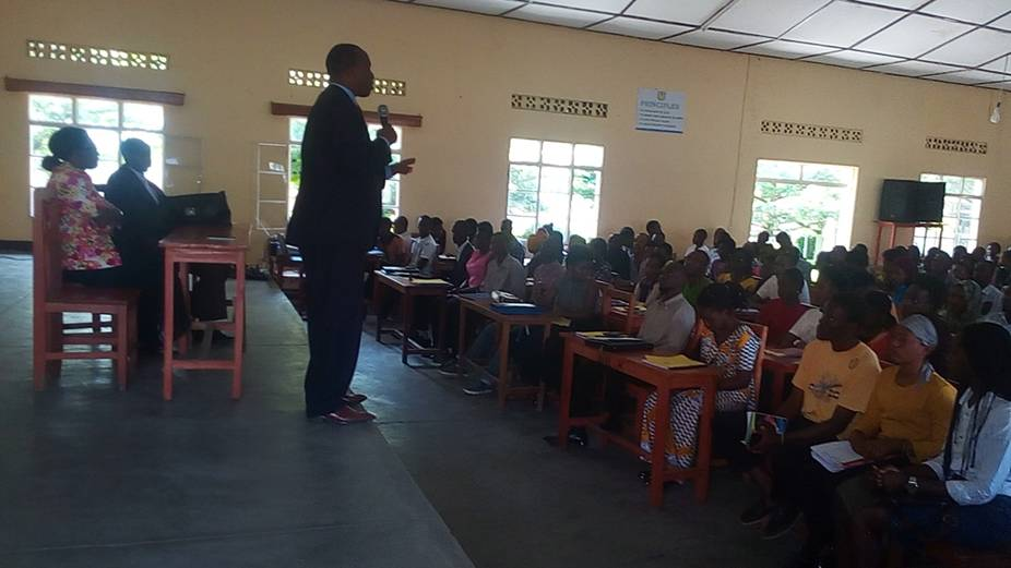 ULK VC at Gisenyi Campus