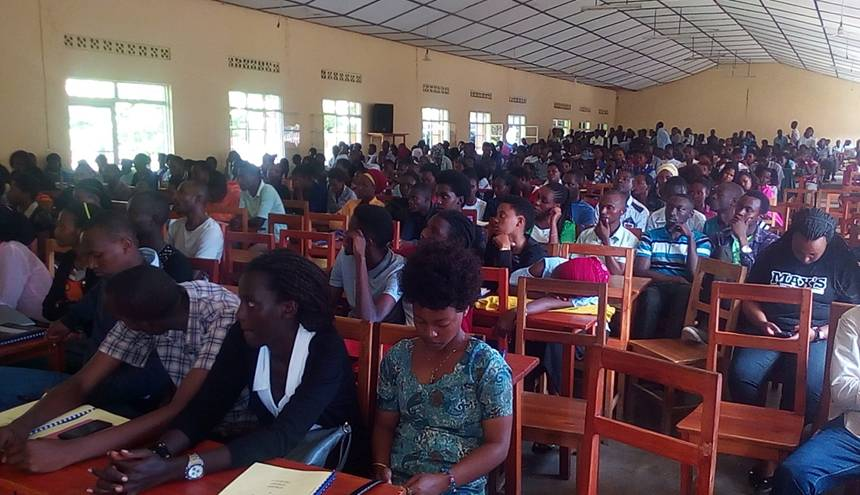ULK/GISENYI CAMPUS BRIEFED ON ENVIRONMENT PROTECTION