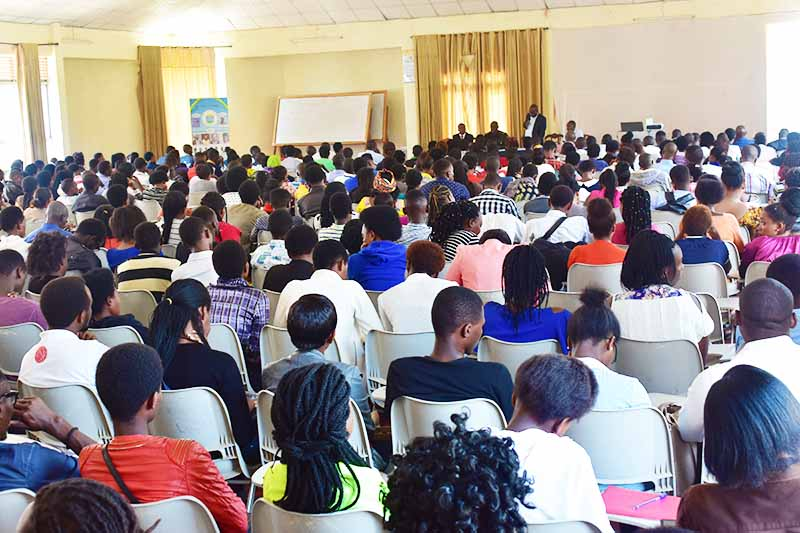 ULK Students following the Heros Day Conference